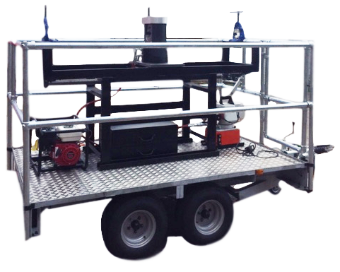 We'd like to welcome to our range the Cable Jointing Trailer. Giving you the option to complete your compression joints easily and hassle free with the banana effect eliminated. Travel off road giving access to the toughest area. Petrol generated with both 240v and a heavy duty 110v pump suitable for use in all conditions. … Continue reading