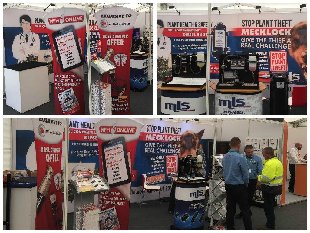 The first week of June 2015, MLS exhibited at Plantworx in Bruntingthrope. The brand new FREE KarryKrimp1 promotion was a main talking point amongst visitors on our stand. Whilst the all new Mecklock demonstration gave plant uses a real feel for how difficult our anti-theft system is to beat. Alongside the filter lessFuel Purifiner demo … Continue reading