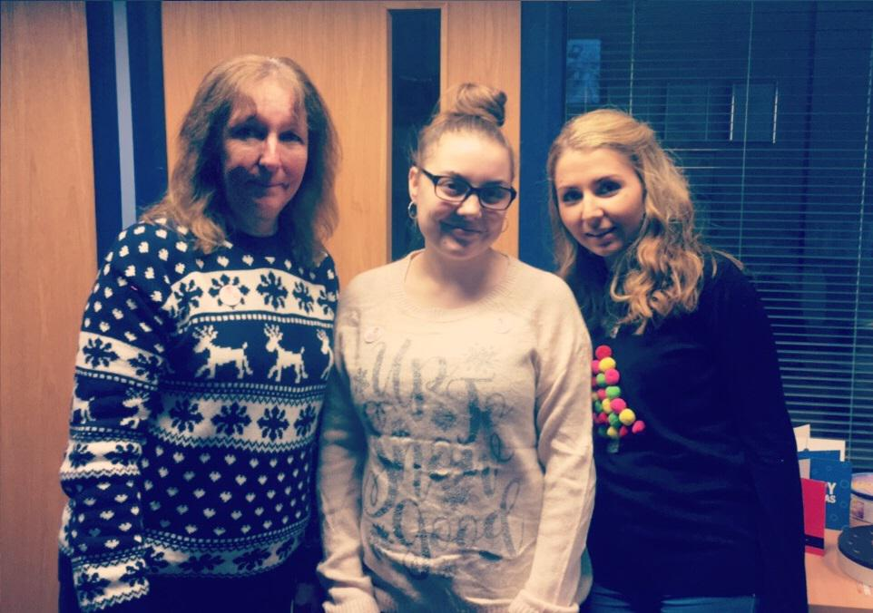Every year the Centinal Group staff support National Christmas Jumper Day. Held on December 16th 2016. Below we have pictures from our Swindon Oxford Branches: