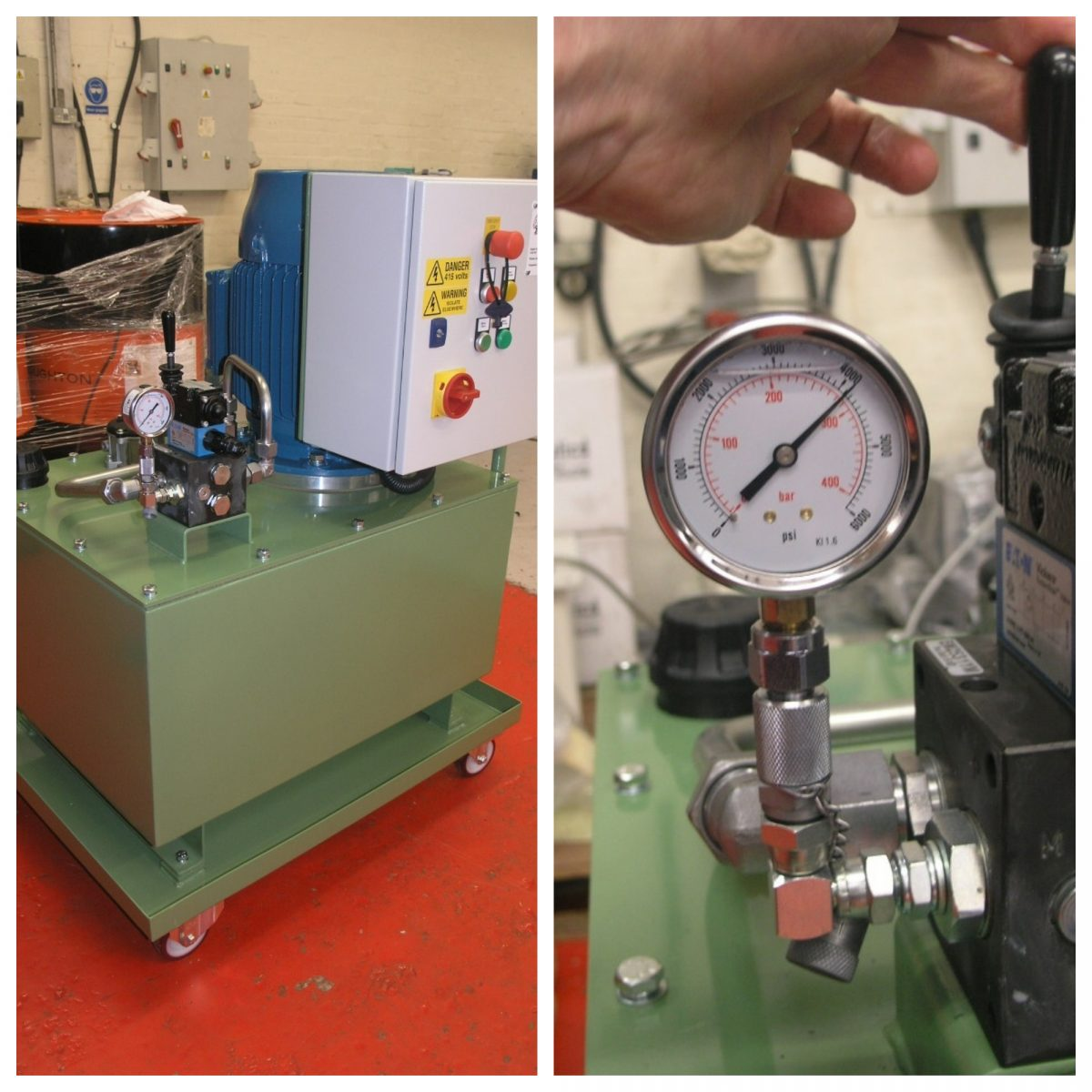 Our customer was struggling to push and pull die cast locking pins in and out of an engine die cast using their existing Hydraulic Power Pack (HPU). MF was invited to offer a solution. We doubled the power output and speed resulting in supplying 11kw, 280 bars and 20lpm new mobile HPU. The customer is … Continue reading