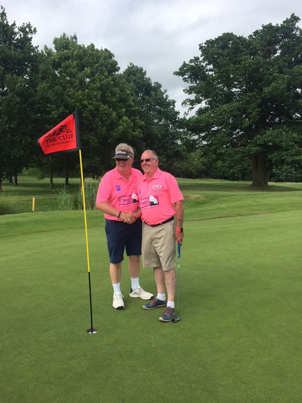 Mike Ford & Mapledurham golf club Captain, Frank O'Neill woke up at the crack of dawn Saturday 16th June to start their epic task. 100 holes of golf in one day. By 9am the duo had already completed 36 holes. By 5.15pm it was all over. 100 holes done within 13 hours. The pair had … Continue reading
