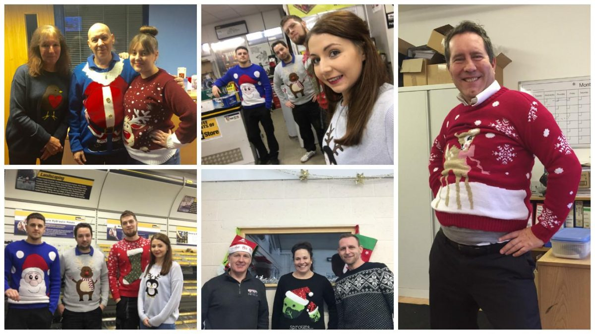Christmas Jumper Day 2015!