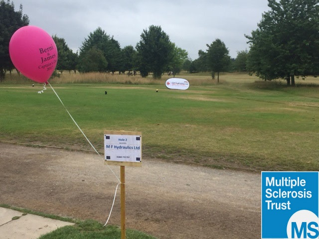 MF Hydraulics were proud sponsors at Mapledurham Golf Club over the past weekend with all proceeds going to Multiple Sclerosis Trust. Although the weather didn't quite hold out, the day was a success with all money raised going to a good cause.