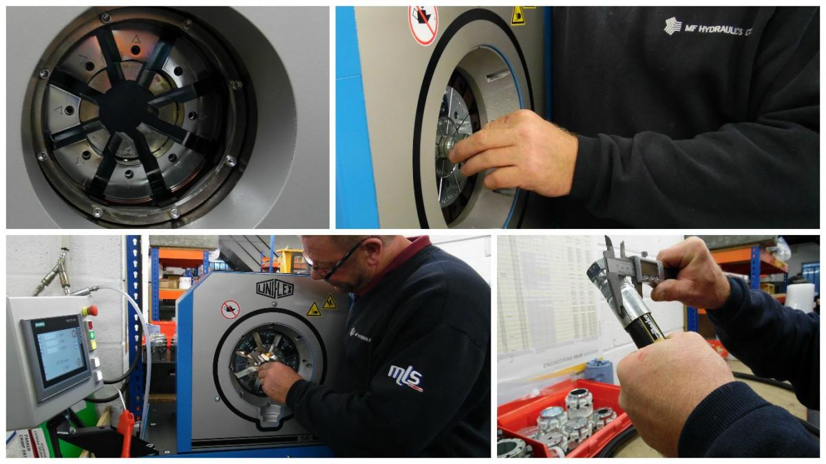 Our Workshop in Oxford has improved massively thanks to its brand new crimper. Due to increased volume from our new and existing OEM customersMF Oxford has invested in a state of the art production crimper. The Uniflex S8 has a crimp force of 2200KN and is capable of crimping hoses from 1/8 to 2 bore … Continue reading