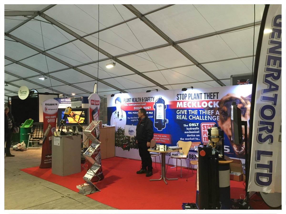 We've taken our brand new KarryKrimp promotion all the way to Lamma in Peterborough.LAMMA is the UK's largest farm machinery, equipment and agricultural services show. We also have live demonstrations of the Mecklock and Fuel Purifiner. As it's a little cold outside we're giving away wooly hats and touch screen gloves. If your on your … Continue reading