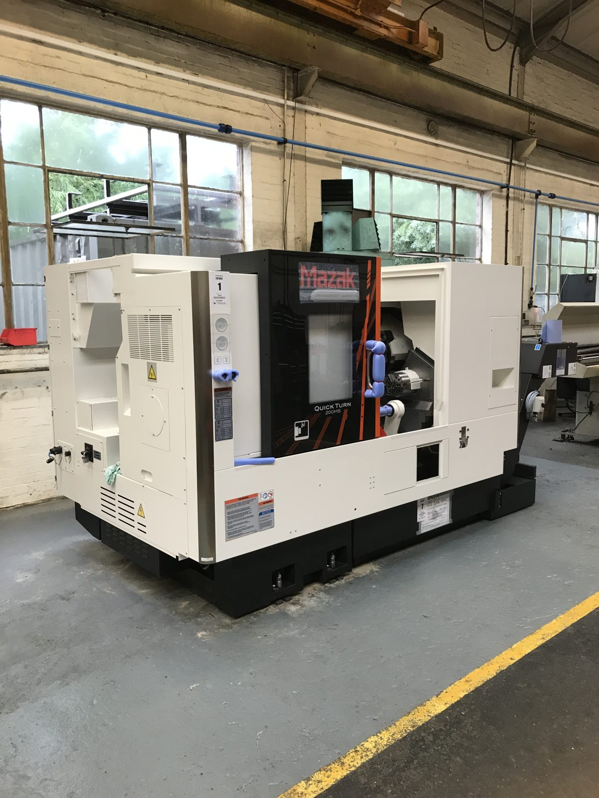The new Mazak Machine has arrived at Central Engineering Services in Worcester. The new machine is a twin spindle quick turn 200MS and can create in no time at all. Take a look at our engineering capacity by clicking here.