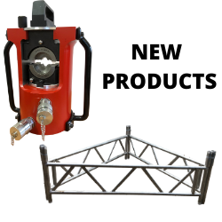 The T80 terminator compression head is designed to off set hydraulic hose ports with quick release couplings making hose connection quick & a safe operation. With compact plastic coated handles for more comfortable handling. Scaffold Trestles are erected between Electric Pylons/Towers etc to prevent Cable from grounding & getting damaged. These are all made to order … Continue reading